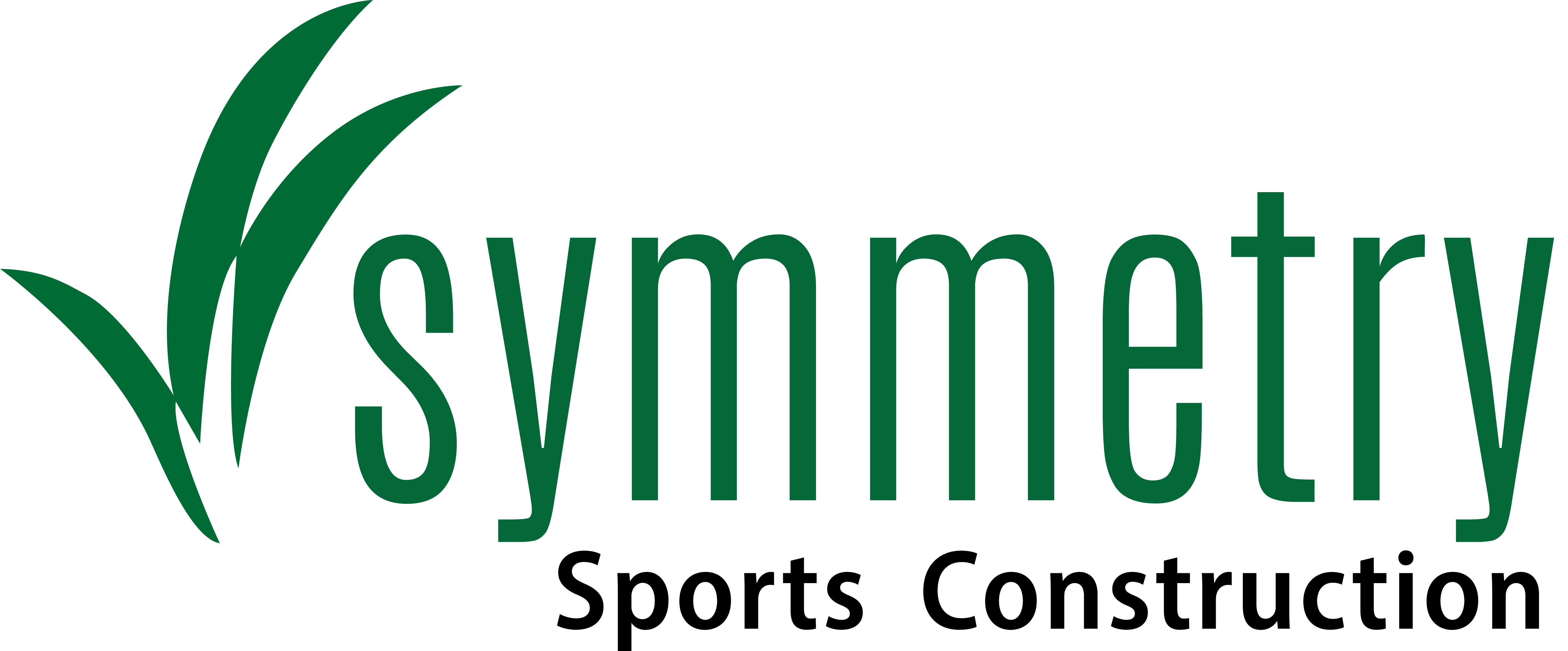 Symmetry Sports Construction Logo