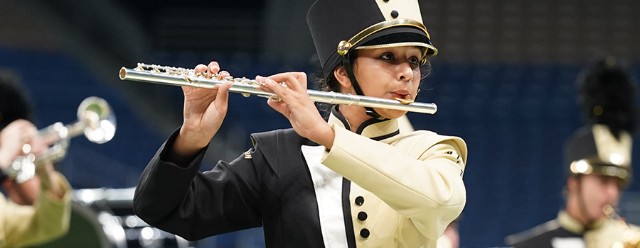State Marching Band Contest — Music — University