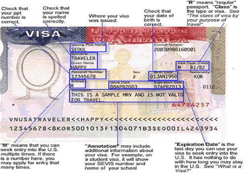 Sample J-1 Visa