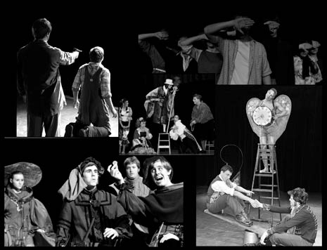 High School One Act Play Montage of Photos