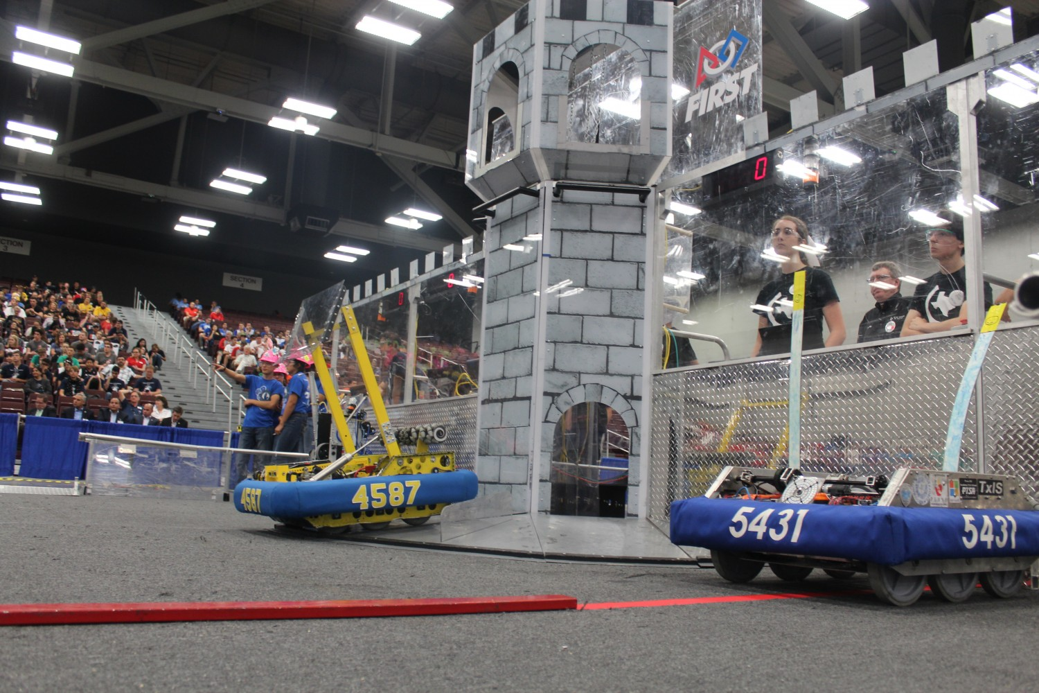 Robotics State Championship in July 'Exceeds' Expectations