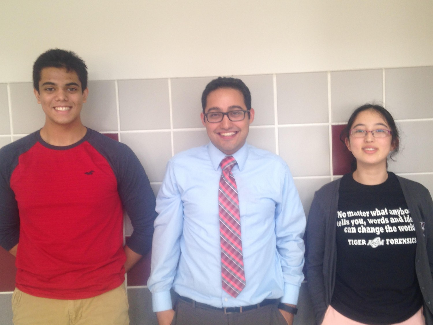 A&M Consolidated High School Coach Roy Rodriguez and his students presented a study report on behalf of UIL at national topic selection meeting in New Orleans this summer.