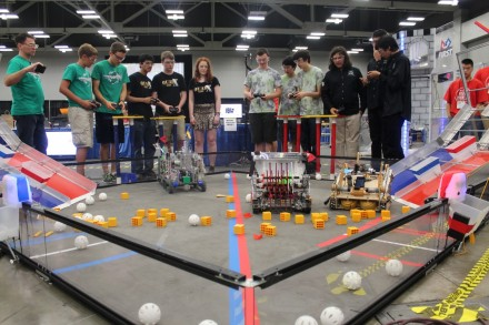 The first Robotics State Championship was held at Austin Convention Center in July.