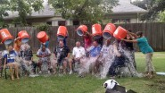 UIL staff participates in the ALS Ice Bucket Challenge.