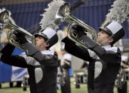 Austin Bowie High School took fourth place at the 5A State Marching Band Contest.