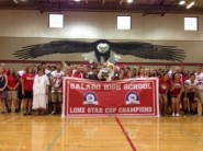 Each of the first five editions of UIL NOW for the 2013-14 school year will feature one of last year's UIL Lone Star Cup winners, like Salado High School.