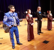 The State Mariachi Festival pilot was held at Southwest High School in San Antonio.