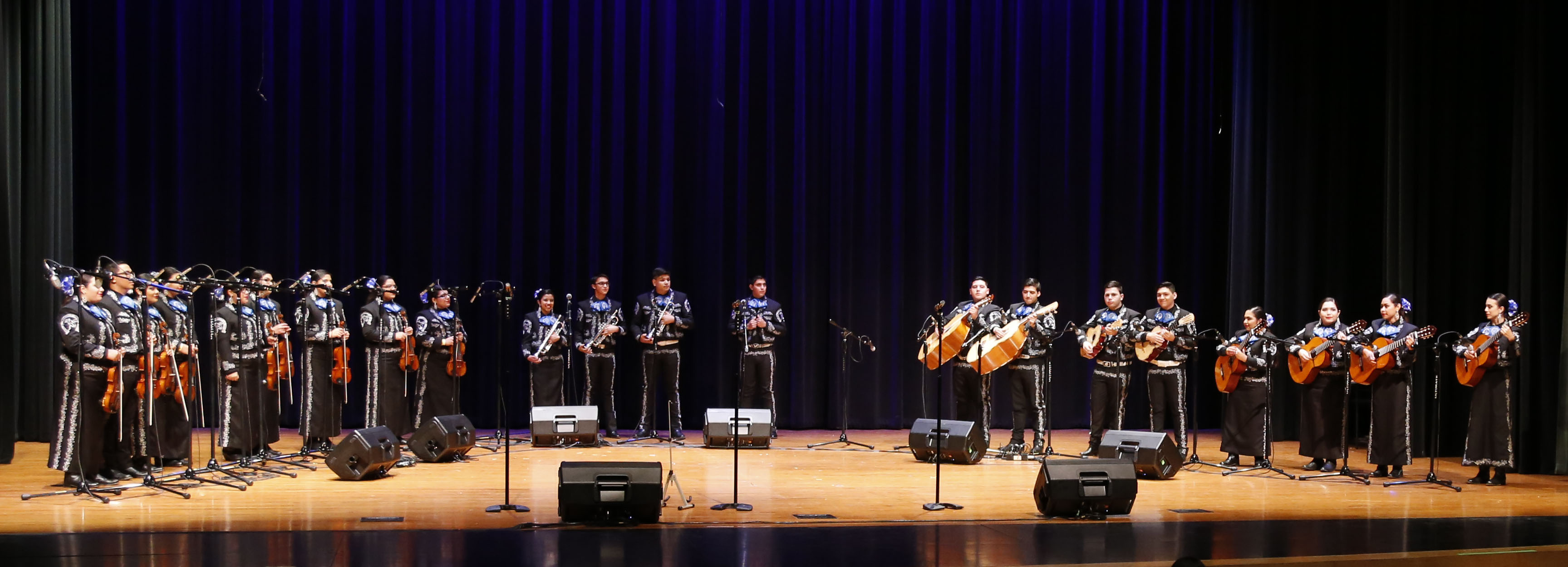 The Mariachi festival is a hybrid of state solo and ensemble contest and the state wind ensemble festival.
