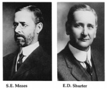 S.E. Mezes and E.D. Shurter